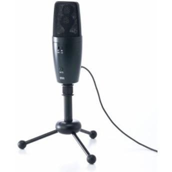 WEB会議マイク(高集音・USB接続・全指向性&単一指向性)[400-MC001]【送料無料】