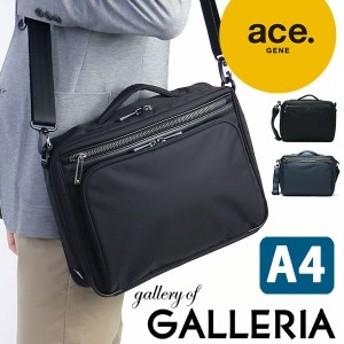 【商品レビューで+5倍】ace.GENE エースジーン FLEX LITE Fit 2WAY ショルダーバッグ (A4対応) メンズ 54556