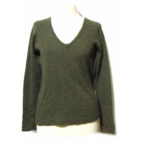 ZUCCA ミリタリーサーマルニットセーター (military knitting sweater) ズッカ 045759【中古】