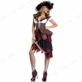 コスプレ 仮装 ホットパイレーツ S/M 仮装 衣装 コスプレ ハロウィン 余興 大人 コスチューム 女性 パイレーツ 女海賊 大人用 女性用 レ