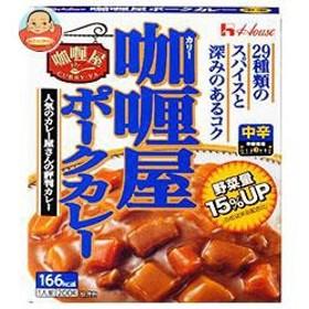 【送料無料】 ハウス食品  カリー屋ポークカレー  中辛  200g×30個入