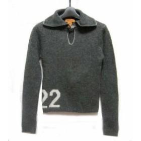 Dog「22」セーラープルオーバーニットセーター Sailor slip-on knit sweater (ドッグ) 037940【中古】