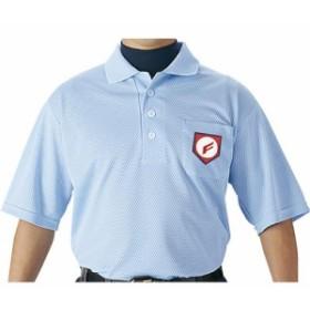 エスエスケイ(SSK) 審判用半袖ポロシャツ UPW027 パウダーブルー 【野球 審判用品 ウエア】