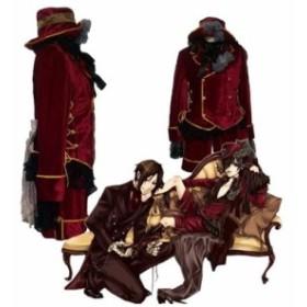 黒執事 シエル・ファントムハイ ヴ 風 赤★ コスプレ衣装 完全オーダメイドも対応可能  K2739