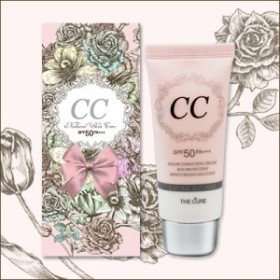 【CC Cream】The cure CCクリーム SPF50 PA++ 30ml うるおってナチュラル