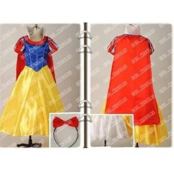DK1776 高品質コスプレ衣装 ディズニー プリンセス 白雪姫 ハロウィン コスチューム、コスプレ