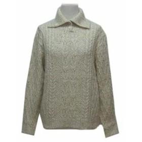 Salt-α ローゲージケーブルニットセーター (Low gauge cable knit sweater) ソルトアルファ 063175【中古】