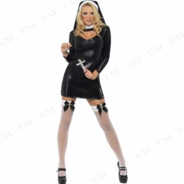 コスプレ 仮装 シスター ブリス 大人用 M コスプレ 衣装 ハロウィン 仮装 余興 大人 コスチューム 女性 シスター 女性用 レディース パー