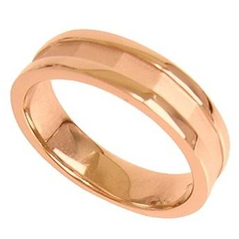刻印無料 ピンクシルバー シンプル ペアリング マリッジリング 結婚指輪 メンズ単品|雑誌掲載人気ブランド|プレゼント推奨|95-2025P