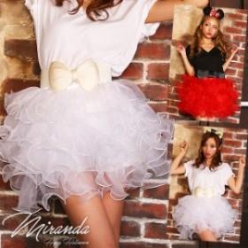 夏新作 ハロウィン コスプレ 仮装 衣装 レディース コスチューム パニエ ボリュームUP チュチュ ミニスカ ドレスのボリュームアップに