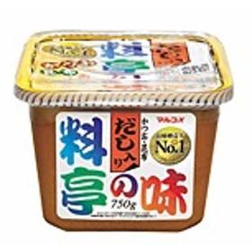 マルコメ株式会社 マルコメ 料亭の味 カップ 750g ×8個【イージャパンモール】