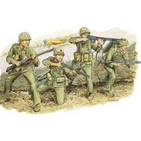 ドラゴンモデル 【再生産】1/35 WW.II アメリカ海兵隊 硫黄島 1945【DR6038】プラモデル 【返品種別B】