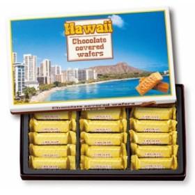 [ハワイお土産] ハワイ チョコウエハース 1箱 (ハワイ お土産 ハワイ 土産 ハワイ おみやげ ハワイ みやげ 海外土産)