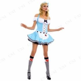 !! セクシーアリスコスチューム SM 仮装 衣装 コスプレ ハロウィン 余興 グッズ 大人用 パーティー ドレス セクシー 童話 不思議の国のア