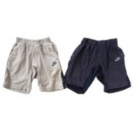 NIKE ナイキ「100」パンツ 2本セット (キッズ 子供) 090258【中古】