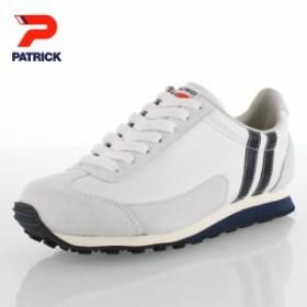 1d38b204ad PATRICK パトリック BOSTON-L II WHT ボストン・レザー 2 528260 WH06-28260 メンズ