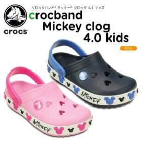 クロックス(crocs) クロックバンド ミッキー クロッグ 4.0 キッズ(crocband Mickey clog 4.0 kids)ディズニー/キッズ[C/A]