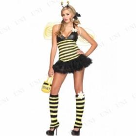 キュートハニー XS 仮装 衣装 コスプレ ハロウィン 余興 大人用 コスチューム 女性 ハチ ミツバチ 蜂 女性用 レディース パーティーグッ