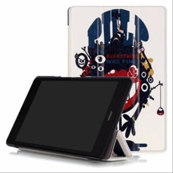 上質 ASUS ZenPad 3 8.0 Z581KL型 タブレット用手帳型/レザーケース/3つ折り/上質/横開き/【F027-H】