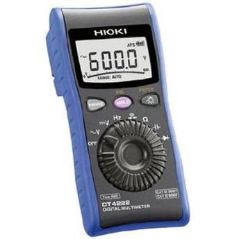 日置電機 DT4222 デジタルマルチメータ DT4222デジタルテスタ[DT4222ヒオキ]【返品種別A】