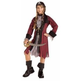 子供 カリビアンプリンセス M 120-140cm対応 女の子 ハロウィン 海賊 衣装 仮装 コスチューム