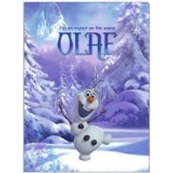 【メール便OK】アナと雪の女王 クリアファイル(オラフ)/見開きタイプ(2ポケット)/S2157470【サンスター】アナ雪