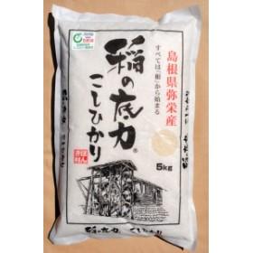 送料無料 30年 産お米 コシヒカリ 稲の底力こしひかり 5kg/ 贈り物 グルメ 食品 ギフト お歳暮 御歳暮