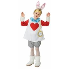 子ども用スノーラビットTod ハロウィン 仮装 コスチューム 衣装 chara キッズ アリス うさぎ コスチューム デ