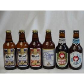 クラフトビールパーティ6本セット プラチナエール330ml 金しゃちピルスナー330ml×2 金しゃちアルト330ml 常陸野ネストアンバーエー