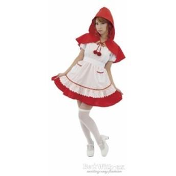 『チェリーな赤ずきん』コスプレ衣装  ハロウィン衣装 A0527RE