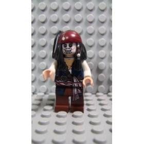 レゴ ミニフィグ パイレーツ・オブ・カリビアン 012 Captain Jack Sparrow_D