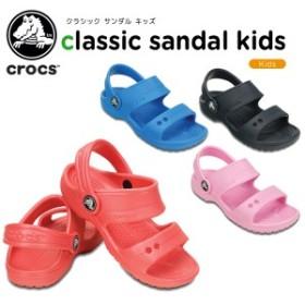 【送料無料対象外】クロックス(crocs) クラシック サンダル キッズ(classic sandal kids)[C/A]