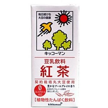 キッコーマン 豆乳飲料 紅茶 1L【イージャパンモール】【キャッシュレス5%還元】