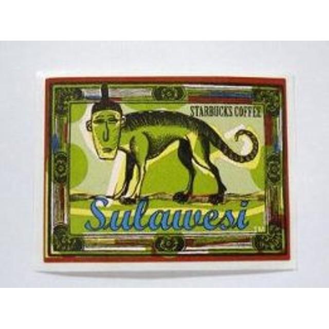 スターバックス ステッカー Sulawesi