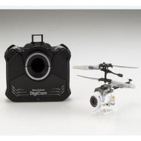 シーシーピー カメラ付き超小型ヘリコプター ナノファルコンデジカム【84729-WH】 【返品種別B】
