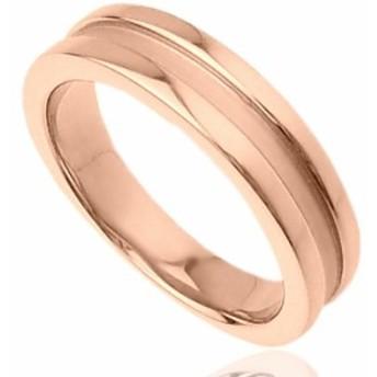 刻印無料 ピンクシルバー シンプル ペアリング マリッジリング 結婚指輪 メンズ単品|雑誌掲載人気ブランド|プレゼント推奨品|95-2011P