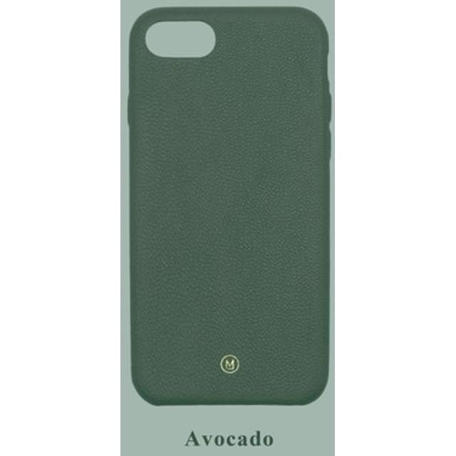 カスタマイズされたマルチカラーレザーラムスキンシリーズマカロンドリームカラーダークグリーンiPhoneケース