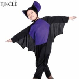 子供用 コウモリ コスチューム 衣装 発表会 キッズ アニマル ハロウィン イベント 子供服 子ども服 KIDS16126