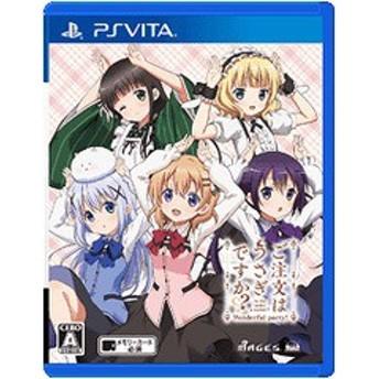 送料無料有/[PS Vita]/ご注文はうさぎですか Wonderful party! [通常版]/ゲーム/VLJM-30174