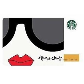 スターバックス alice + olivia カード