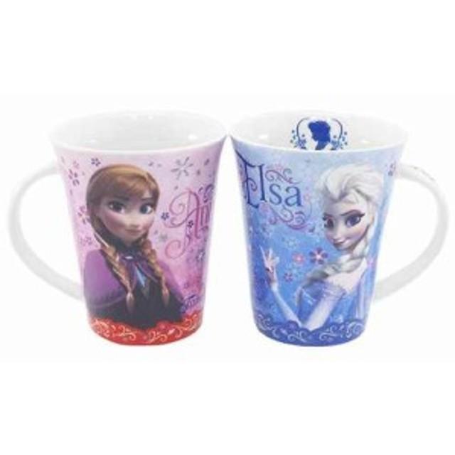 ◆アナと雪の女王[マグカップ]ペアマグカップ(プレゼント、贈り物、お土産,キャラクターグッツ通販、アニメキャラ(P8)(ディズニー)