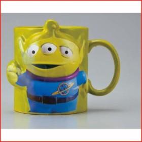 トイストーリー マグカップ エイリアン ディズニー 食器  立体マグカップ エイリアン