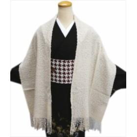 和装着物&洋服に ふわもこショール(ストール・ひざ掛け)ベージュ