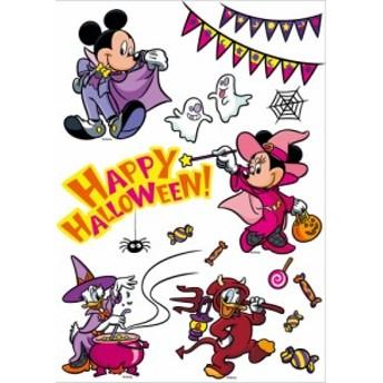 HWB ディズニーウィンドウステッカー ミッキーフレンズ ハロウィン 仮装 コスチューム 衣装