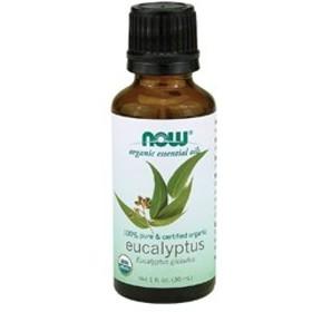 NOW Organic Eucalyptus Oil - 1oz #7410 ナウ オーガニック ユーカリオ...