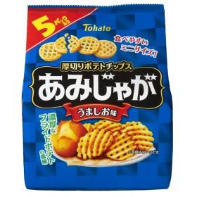 あみじゃが うましお味 17g×5袋【お菓子】