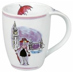 ◆ドイツ KONITZ おしゃれの街 シリーズ,ロンドン マグカップ(B47)