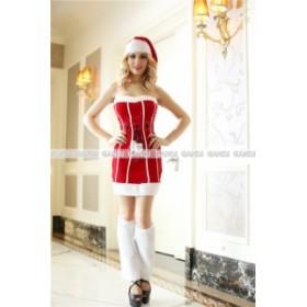クリスマス ウエストライン 引き締め サンタ衣装 コスプレ 仮装 トナカイ仮装 コスプレ 9463
