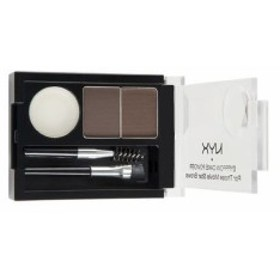 NYX Eyebrow Powder /NYX アイブロウパウダー 色[02 Dark Brown/Brown ダークブラウン/ブラウン]