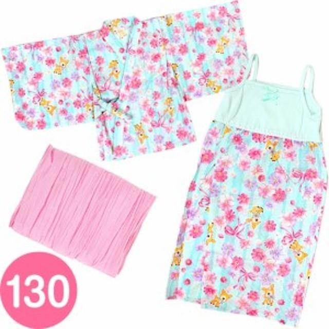 d41a73cdbf093 ハミングミント サンドレス浴衣 ゆかた 130cm 子供 キッズ☆サンリオ 子供キッズサマー衣料シリーズ